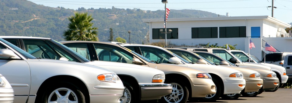 used car lot